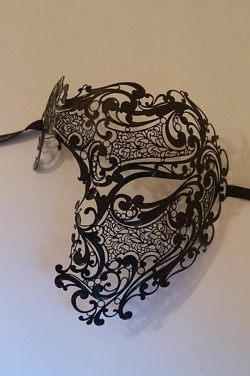 Mask The Phantom of The Opera Black