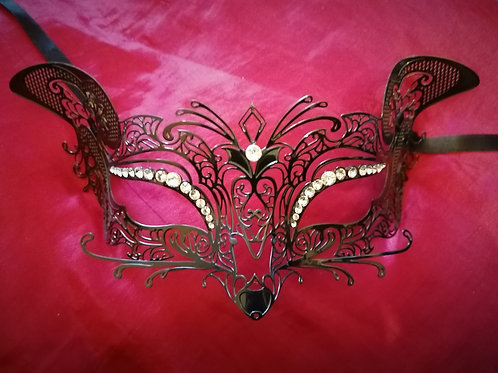 Mask KITTY WITH SWAROVSKY CRYSTALS