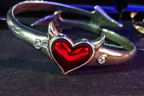 Devil Heart Bangle