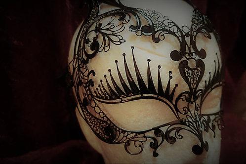 Bunny Black Mask