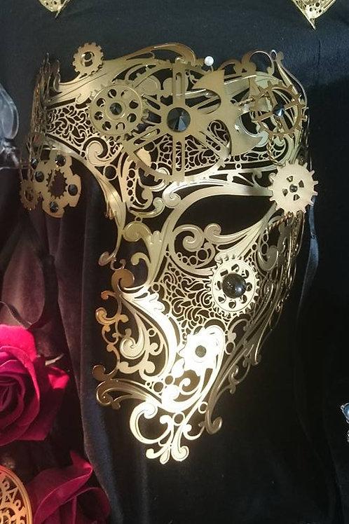 Steampunk Mask The Phantom of The Opera in Bronze