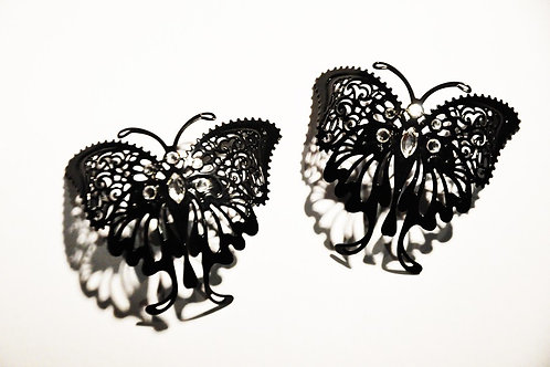 Nipple Covers Butterfly with Swarovski Crystals