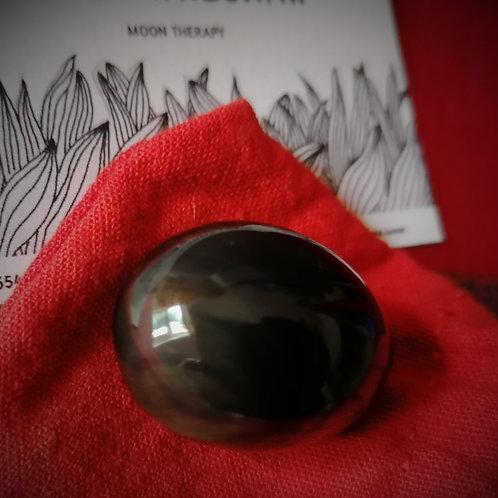 RAINBOW Obsidian Yoni Egg Small 30x20 mm