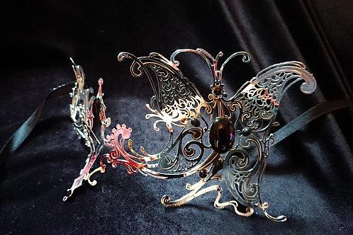 Mask SILVER BUTTERFLY