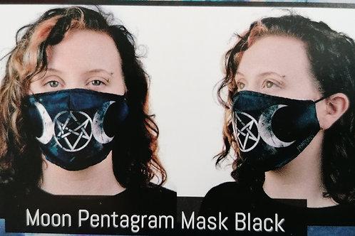 Moon Pentagram Mask UNISEX