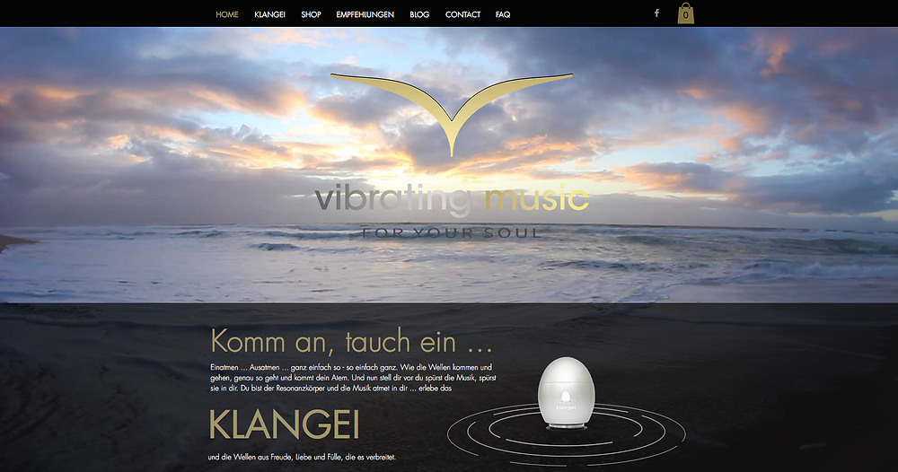 Klangei, vibrating music neu
