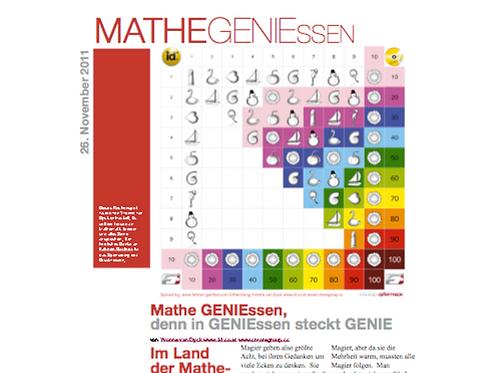 Mathe genießen - denn in Genießen ist Genie enthalten