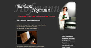 Barbara Hofmann Klangei Pianisitin