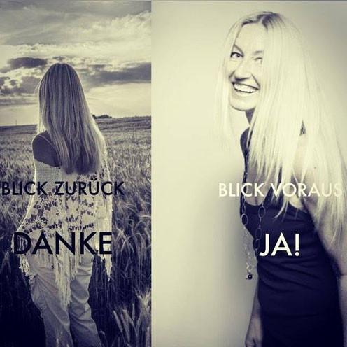 Yvonne van Dyck Blick zurück Danke - Blick voraus JA