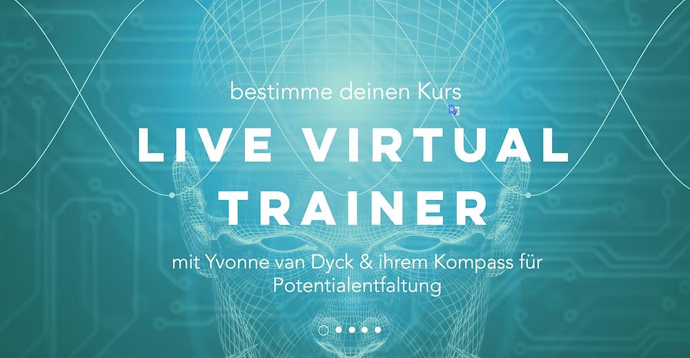 live virtual Trainer mit Yvonne van Dyck
