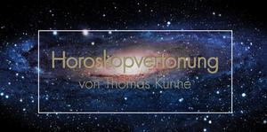 Horoskopvertonung von Thomas Künne mit dem Klangei