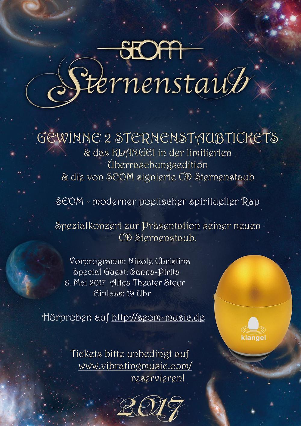 Gewinnspiel SEOM Sternenstaub Klangei