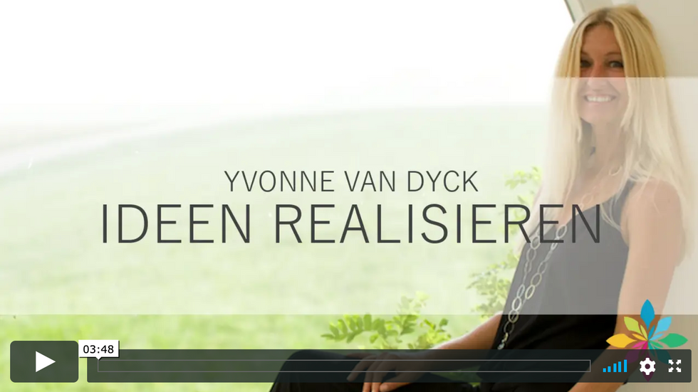 Durch Yvonne van Dyck wird Ideen realisieren leicht gemacht - Interview Balance Beauty Time