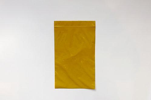 Custom Yellow Resealable Bag: 153x230x75um (1,000pcs)
