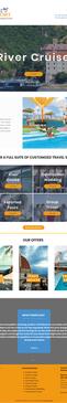 Travel Business Wix Site Design