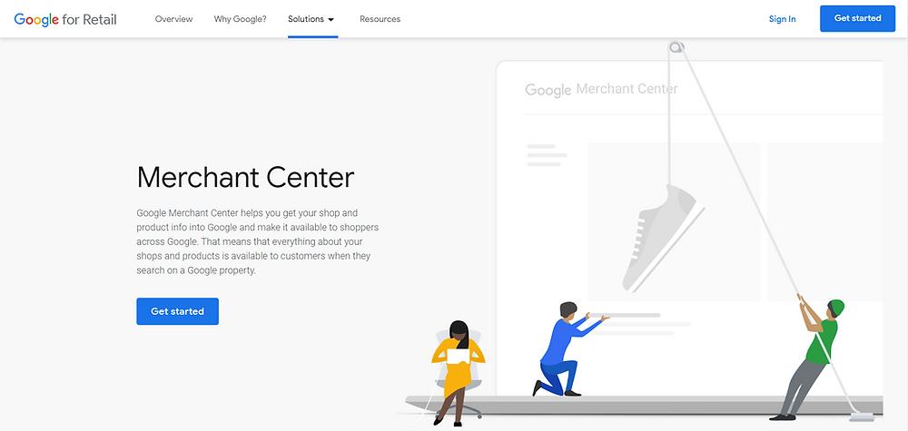Setup Google Merchant Center