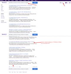 Yahoo Ranking Proof