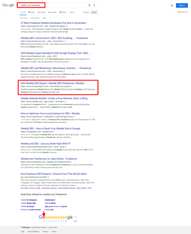 weebly seo freelancer - Google Search (1