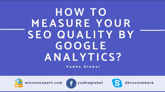 Measure your SEO Score by Google Analytics
