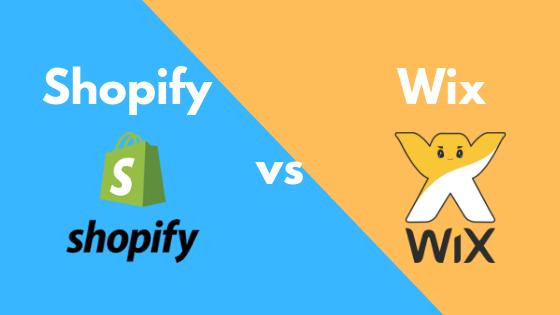 Shopify Vs Wix Comparision