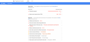 Google Page Speed Errors in Wix Website
