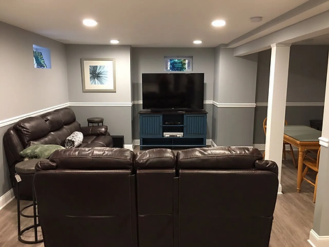BASEMENT REMODELING | Len's Remodeling & Contracting Services