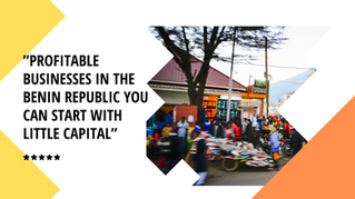 Profitable Businesses in the Benin Republic you can start with Little Capital