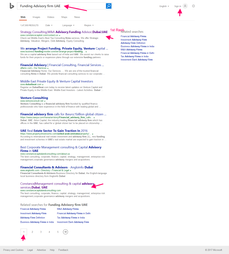 1st Page Bing Ranking Proof