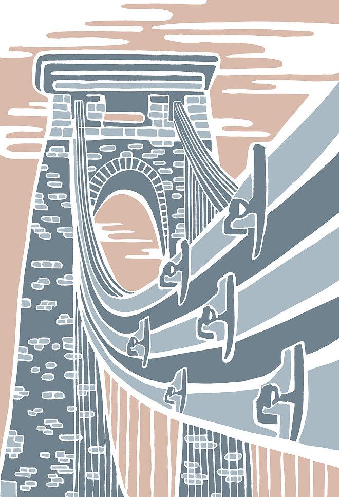 Clifton Suspension Bridge fine art print