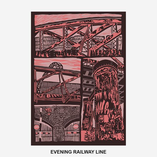 Evening Railway Line