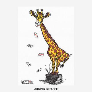 Joking Giraffe