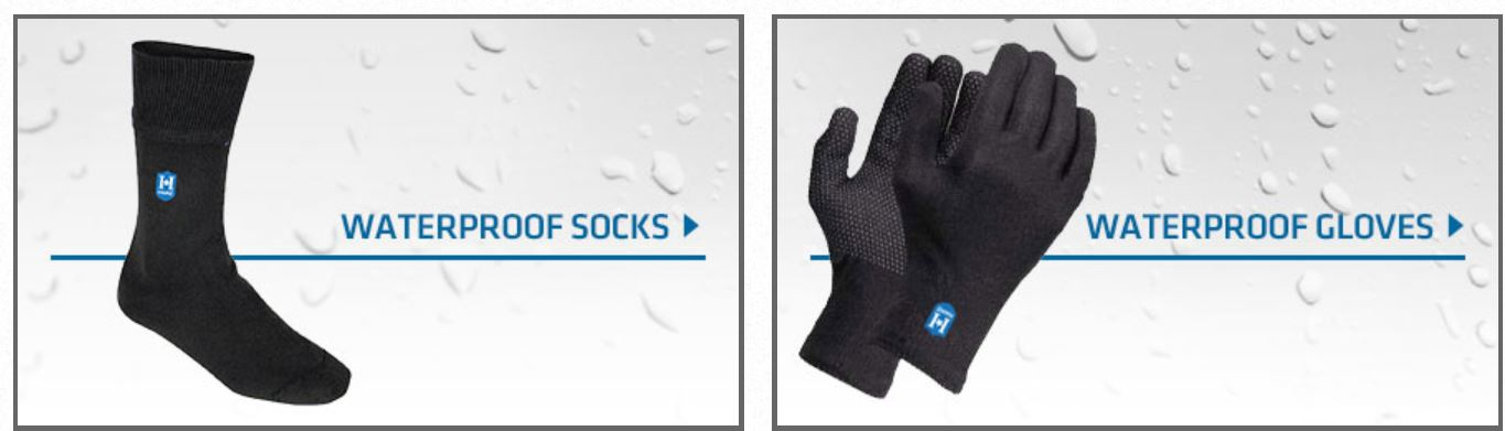 Hanz® Waterproof Socks and Gloves