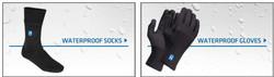 Hanz® Waterproof Socks and Gloves