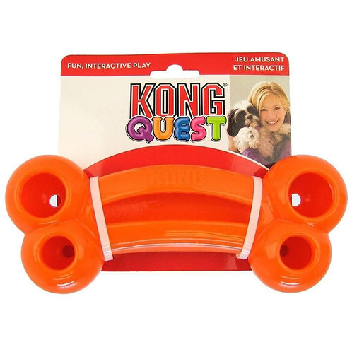 KONG Quest Bone Dog Toy Small