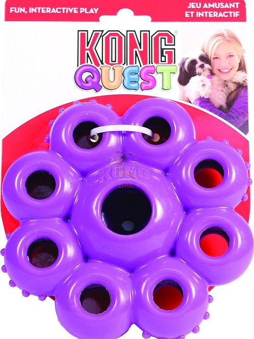 KONG Quest Star Pods Dog Toy Small