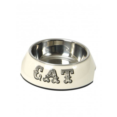 Country Kitchen Cat Bowl - Cream