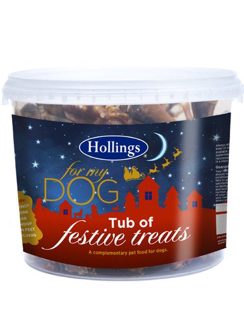 Hollings Festive Tub of Treats
