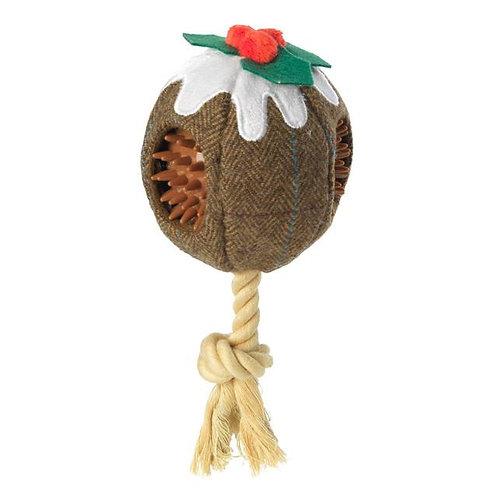 Christmas Pudding Ball Multi Texture Dog Toy