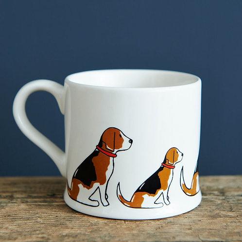 Beagle - Mischievous Mutts Mug