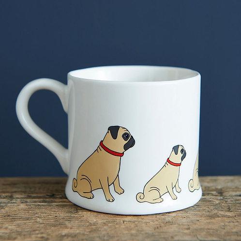 Pug - Mischievous Mutts Mugs