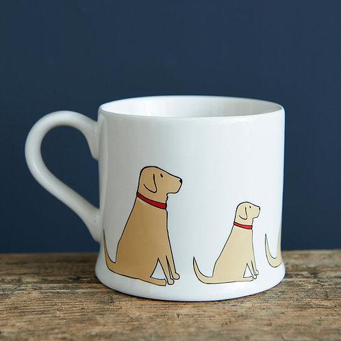 Yellow Labrador - Mischievous Mutts Mugs