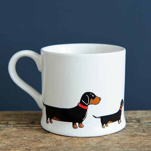 Dachshund / sausage dog - Mischievous Mutts Mugs