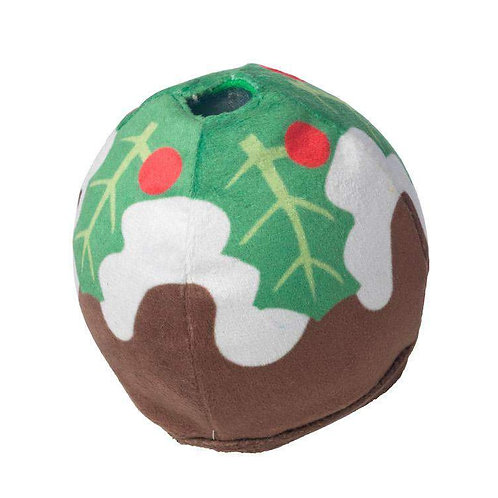 Christmas Pudding ball Treat Dispenser game