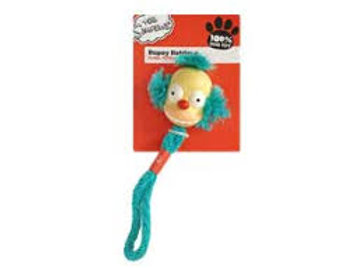 The Simpsons Crusty Clown Rope Retriever Dog Toy