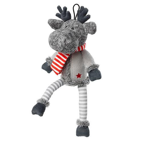 The Silent Night Reindeer (Squeaker Free)