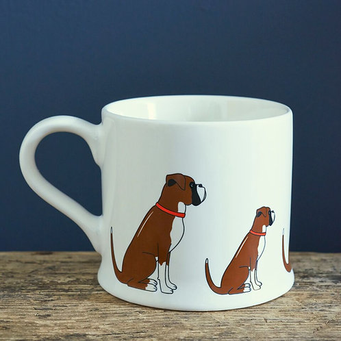 Boxer - Mischievous Mutts Mugs