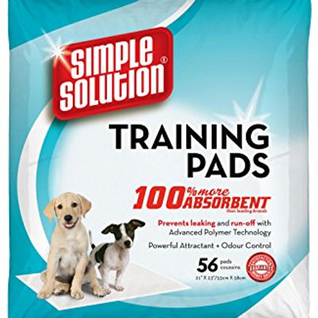 SIMPLE SOLUTION PUPPY TRAINING PADS - 56 Pads