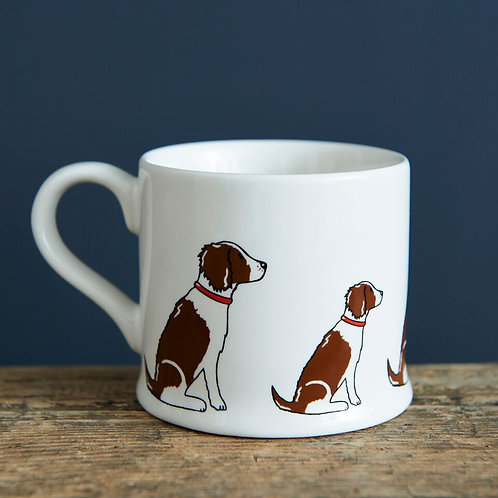 Springer Spaniel (liver and white) - Mischievous Mutts Mugs