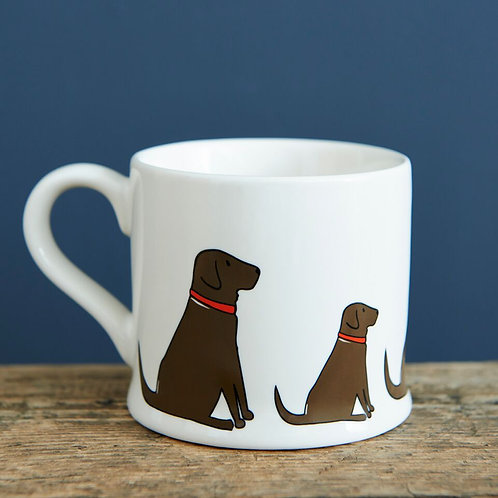 Chocolate Labrador - Mischievous Mutts Mugs