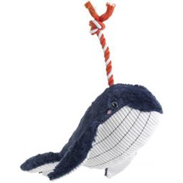 Blue Whale Plush and Rope toy